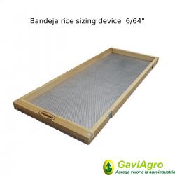 Bandeja rice sizing device...
